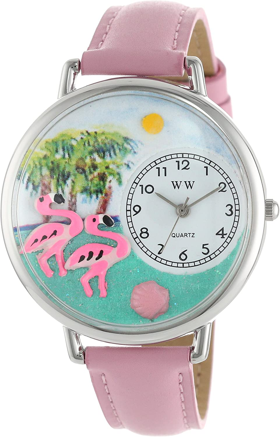 Don't miss the campaign Flamingo Watch in Large Max 50% OFF Silver