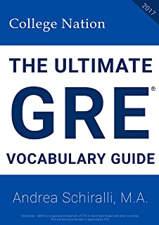 The Ultimate GRE® Vocabulary Guide (2017)