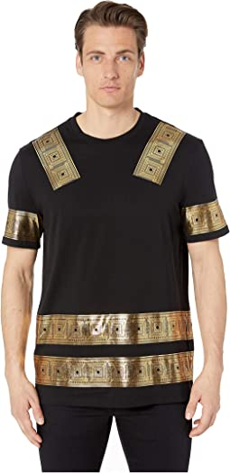 a1b24e44 Versace Collection. Big Print T-Shirt. $205.99MSRP: $295.00. Luxury. Nero/ Stampa