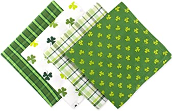DII St Patrick's Day Napkin, 18 by 18-Inch, Set of 4