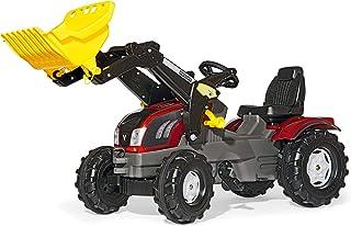 Rolly Toys Traktor / rollyFarmtrac Valtra Kindertraktor mit verstellbarem Sitz, für Kinder von 3 – 8 Jahre 611157