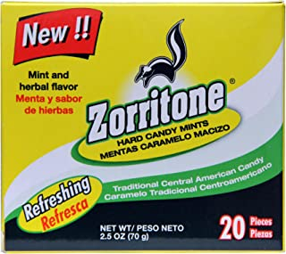 Zorritone Cough Drops | Mint Flavored Central American Cough Lozenges for Fast Acting Cough Relief and Sore Throat Soothin...