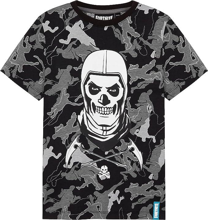 19 opinioni per Fortnite Maglietta Bambino, T Shirt Skull Trooper, Gaming Merchandise da 7 A 14