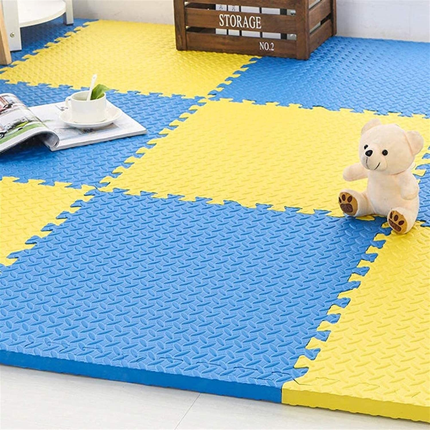 Puzzle Play Mats exercise half Import The noise-resista water-and mat