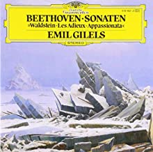 Beethoven: Sonatas - Waldstein, Les Adieux, Appassionata