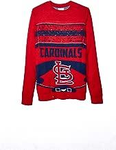 FOCO MLB Mens Stadium Light UP Crew Neck Sweater - Mens