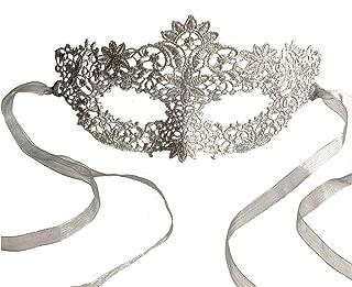 Samantha Peach Lace Coachella Masquerade Mask