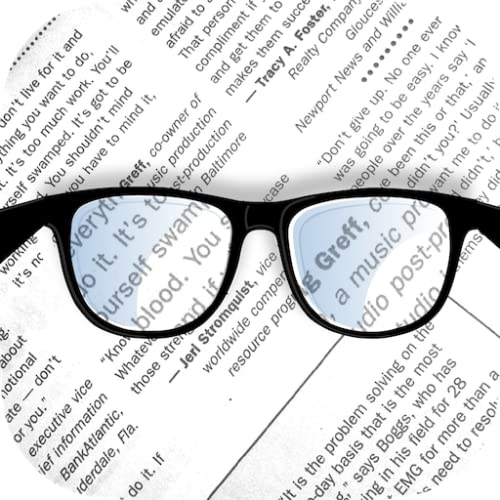 Pocket Glasses PRO - magnifying glass for reading