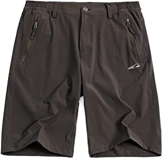 svacuam Men's Outdoor Sport Lightweight Breathable Soft Quick Dry Hiking Shorts