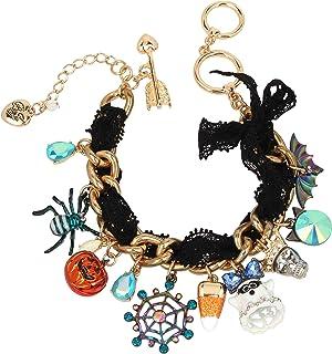 Spooky Mixed Charm Bracelet, Multi (310735GLD966)