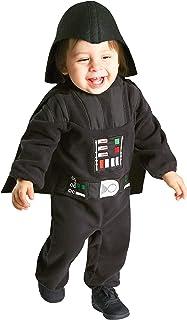 Star Wars - Disfraz de Darth Vader para ninos, infantil 1-2