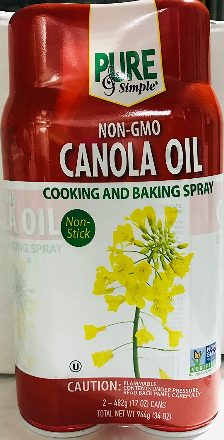 Non- GMO Canola New mail order Oil New mail order Spray for Baking Cooking and