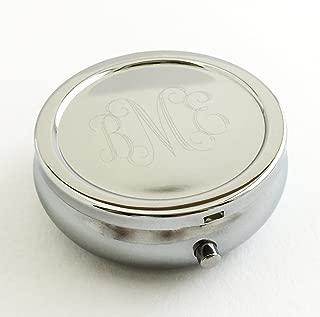 Best monogram pill box Reviews