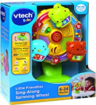 VTech Baby 165903 Little Friendlies Sing-Along Spinning Wheel, Multi