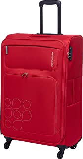 Kamiliant by American Tourister Himba Softside Spinner Luggage 74cm with 3 digit Number Lock - Red