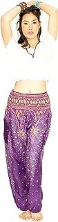 Cotton Rose, Buddha Pants for Women, Genie Pants, Gypsy Pants, Thai Pants, Elephant Pants, Hippie Pants, Boho Pants, Peacock