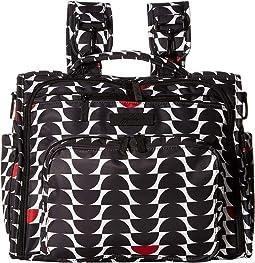 Onyx B.F.F. Convertible Diaper Bag