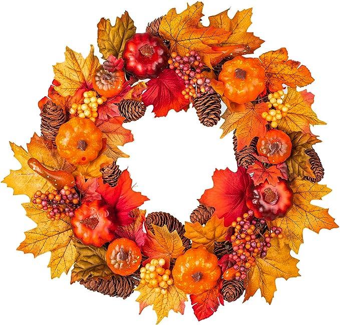 Home & Kitchen Wreaths Halloween Decoration Bat Wreath Pendant ...