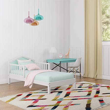 Component Piece Twin Size Lulu Collection Panel Rails Includes Rails Only White Ashley Furniture Signature Design