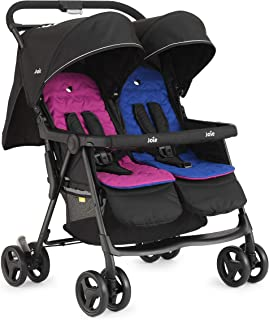 Joie S1217AAPNB000 Aire Twin Baby Stroller - Pink and Blue