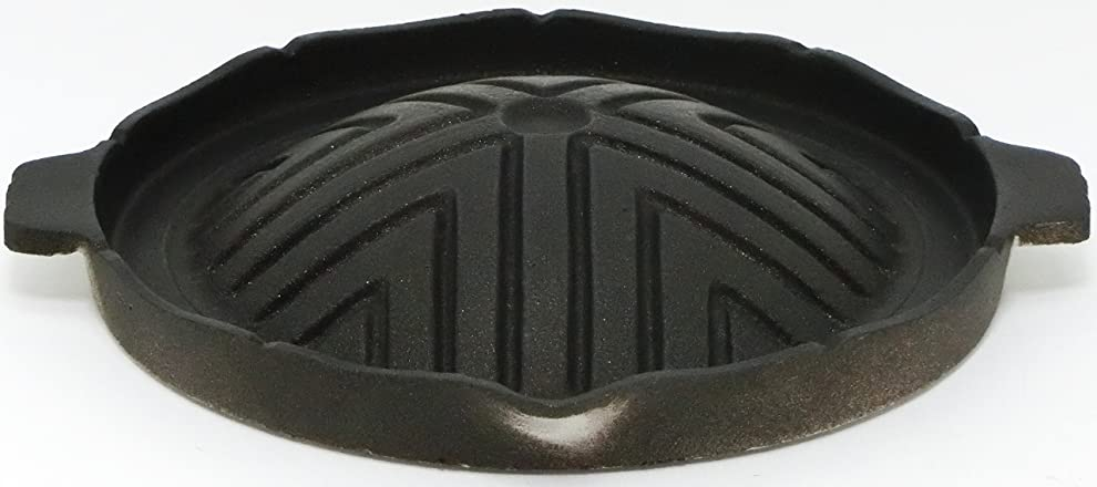 インカ帝国予測子保護【 国産 】 ご家庭でも楽しめる プロ仕様 懐石 匠の 技 丸型 焼肉 ジンギスカン グリル
