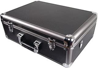 Ape Case, Aluminum Hard Case, Carrying Case, Large XL, Foam Inserts, Wheels Included, TSA Friendly Lock Loops (ACHC5700)