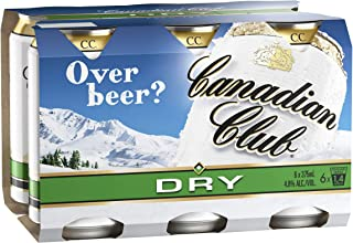 Canadian Club Whisky & Dry Cans, 375ml (Pack Of 6)