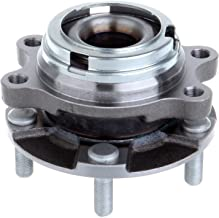 ECCPP Replacement for New Wheel Bearing Hub Front LH Driver RH Pass EACH for G35 G37X EX35 M56 AWD 5 Lug