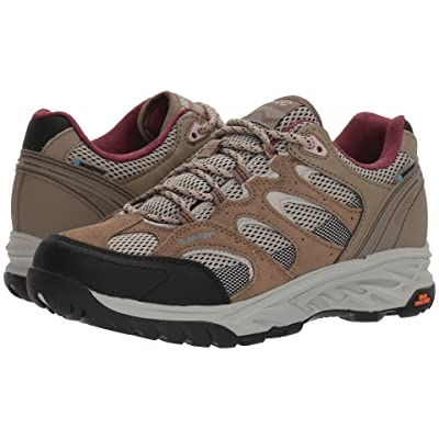 Hi-Tec V-Lite Wildfire Low I Waterproof (Taupe/Warm Grey/Grape Wine) Women