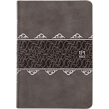 The Passion Translation New Testament, Charcoal (Compact Edition, Imitation Leather) – Compact Bible with Psalms, Proverbs, and Song of Songs, Makes a Great Gift for Confirmation, Holidays, and More