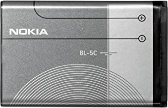 Nokia Battery BL 5C For 1100/1101/1110 / 1110i / 1112/1200/1208/1280/1600/1616/1650/1800/2300/2310/2323 classic / 2330 classic / 2600/2610/2626/2700 classic / 2730 classic / 3100/3109 classic / 3110 Evolve / 3110 classic / 3120/3610 fold / 3650/3660/5030/5130 XpressMusic / 6030/6085/6086/6230 / 6230i / 6267/6270/6555/6600/6620/6630/6670 / 6680/6681/6820/6822/7600/7610 / C1-01 / C1-02 / C2-01 / C2-02 / E60 / N-Gage / N70 / N71 / N72 / N91 / N91 8GB