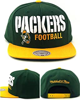 green bay mitchell and ness snapback