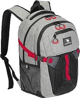 CAMEL CROWN Large Waterproof Backpack 25-35L Laptop Backpack Multifunction Lightweight Daypack...