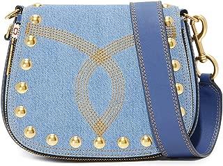 Marc Jacobs Women's Denim Nomad Saddle Bag