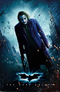"Trends International Dark Knight One Sheet Joker Wall Poster 22.375"" x 34"""