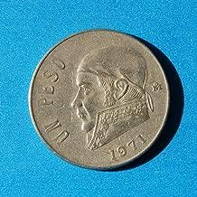 Mexico 1 Peso 1971 Coin #1