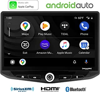 """Stinger HEIGH10 10"""" Multimedia Car Stereo 1024 x 600 HD Display. Apple Car Play, Android Auto, SiriusXM Ready, Bluetooth, ..."""