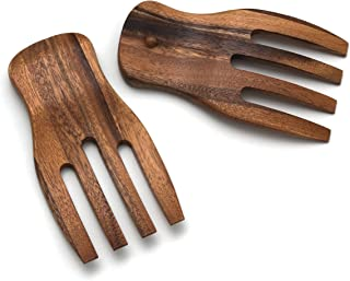 Best wooden hands salad tongs Reviews