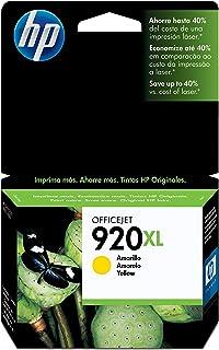 Cartucho Tinta HP 920XL Amarelo - CD974AL, HP, 920XL, Amarelo
