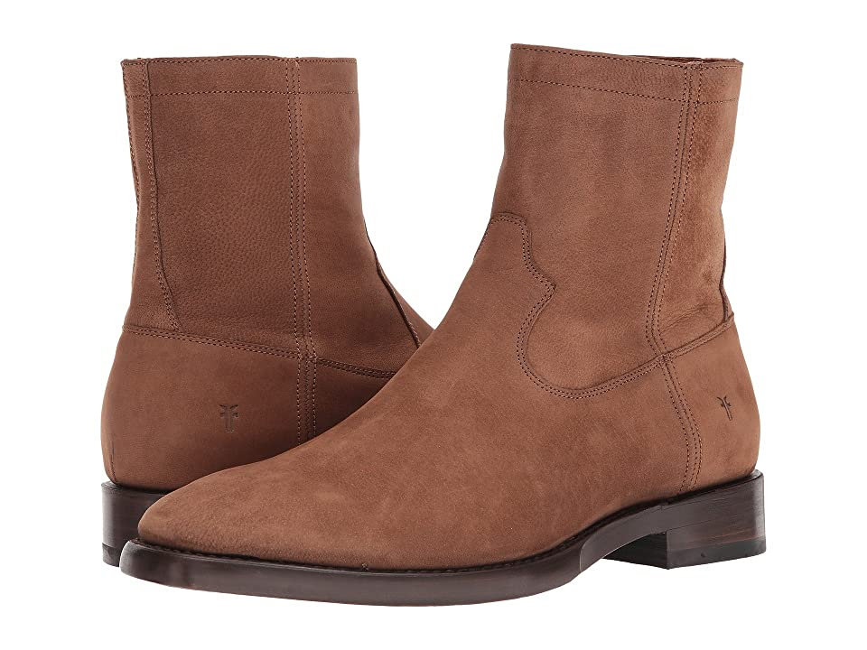 Frye Weston Inside Zip (Tan Nubuck) Men