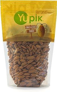 Yupik Organic Raw European Almonds, Non-GMO, Vegan, Gluten-Free, 1Kg