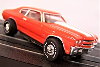 Auto World Orange 1970 Chevy Chevelle SS Ho Scale Slot car