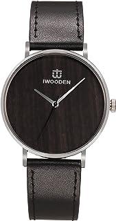 ساعة يد رسمية للرجال كوارتز انالوج بعقارب للعمل مع سوار من الفولاذ المقاوم للصدأ 3ATM هدية للرجال