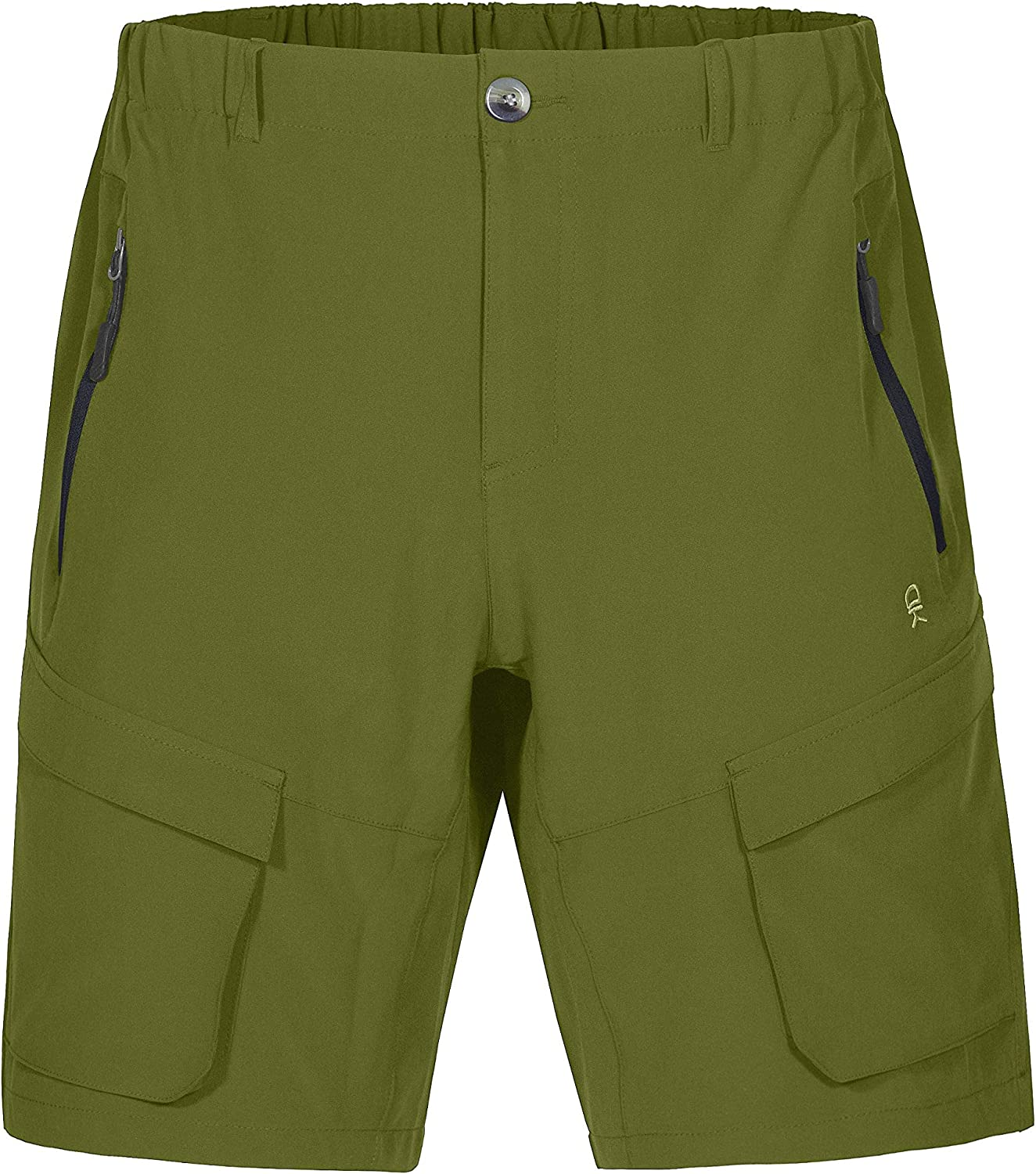 Little Donkey Andy Men's Stretch Quick Dry Cargo Shorts for Hiking, Camping, Travel: Clothing
