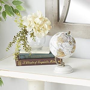 Deco 79 Wood Metal MBL Globe 5