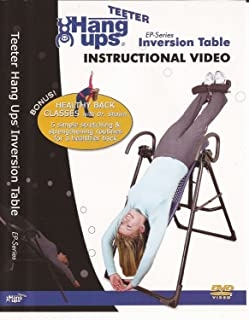 Teeter EP-Series Inversion Table Instructional DVD