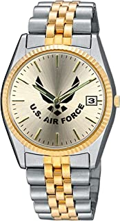 U.S. Air Force Stainless Steel Frontier Mens Watch - 30m Water Resistant