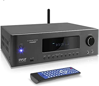 1000W Bluetooth Home Theater Receiver - 5.2-Ch Surround Sound Stereo Amplifier System with 4K Ultra HD, 3D Video & Blu-Ray...