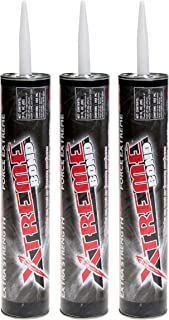 XTREME Bond Masonry Adhesive for Wet or Frozen Surfaces in 10.5 oz and 29 oz cartridges All Purpose All Weather Construction Adhesive