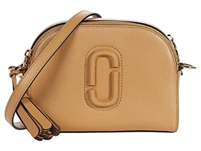 Marc Jacobs Shutter Crossbody (Dirty Chai) Handbags